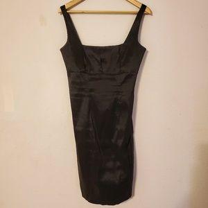 Calvin Klein Sleveless Taffeta Work/Cocktail Dress